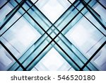 double exposure of modular... | Shutterstock . vector #546520180