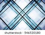 double exposure of modular... | Shutterstock . vector #546520180