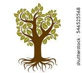 illustration of stylized... | Shutterstock . vector #546525568