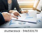 team work process. young...   Shutterstock . vector #546533170