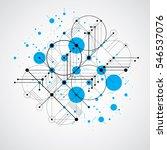 modular bauhaus background ... | Shutterstock . vector #546537076