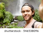 Self Portrait Of Happy Hiker I...
