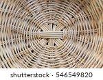 Texture Of Bamboo Tray