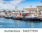 victoria and alfred waterfront... | Shutterstock . vector #546577054