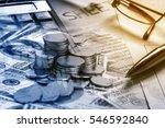 business calculating growing... | Shutterstock . vector #546592840