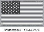 grunge usa flag.vintage... | Shutterstock .eps vector #546613978