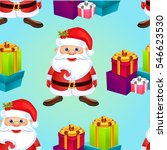 christmas poster holiday... | Shutterstock .eps vector #546623530
