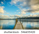 bridge to the sky | Shutterstock . vector #546655420