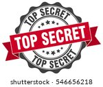 top secret. stamp. sticker.... | Shutterstock .eps vector #546656218