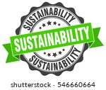 sustainability. stamp. sticker. ... | Shutterstock .eps vector #546660664