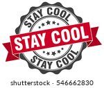 stay cool stamp sticker seal