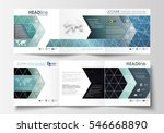set of business templates for... | Shutterstock .eps vector #546668890