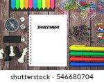investment | Shutterstock . vector #546680704