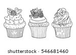 a hand drawn sketch of a... | Shutterstock .eps vector #546681460