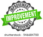 improvement. stamp. sticker.... | Shutterstock .eps vector #546684700