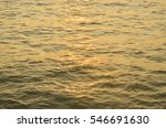 Golden Sun Line On The Water Of ...