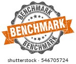 benchmark. stamp. sticker. seal.... | Shutterstock .eps vector #546705724