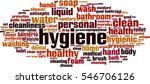 hygiene word cloud concept.... | Shutterstock .eps vector #546706126