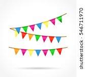 illustration of colorful... | Shutterstock .eps vector #546711970