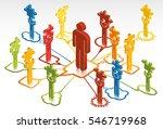 social network solutions  | Shutterstock .eps vector #546719968
