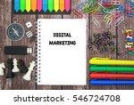 digital marketing | Shutterstock . vector #546724708