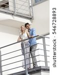 full length of young couple... | Shutterstock . vector #546728893