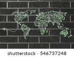 concept of global...   Shutterstock . vector #546737248