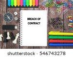 breach of contract | Shutterstock . vector #546743278