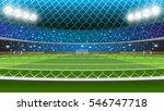 vector illustration of soccer... | Shutterstock .eps vector #546747718