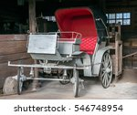 old wooden wagon carriage... | Shutterstock . vector #546748954