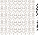 vector pattern with art... | Shutterstock .eps vector #546749464