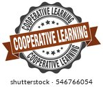 cooperative learning. stamp.... | Shutterstock .eps vector #546766054