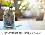 money investment background... | Shutterstock . vector #546767110