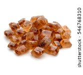 brown caramelized lump cane... | Shutterstock . vector #546768310