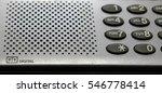 button landline phone with... | Shutterstock . vector #546778414