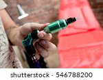 tattoo accessories in tattoo... | Shutterstock . vector #546788200