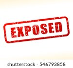 illustration of exposed text... | Shutterstock .eps vector #546793858