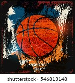 basketball typographical... | Shutterstock .eps vector #546813148