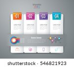 infographic design vector and... | Shutterstock .eps vector #546821923
