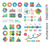 business charts. growth graph.... | Shutterstock .eps vector #546822079