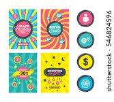 sale website banner templates.... | Shutterstock .eps vector #546824596