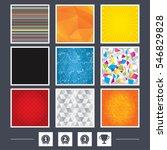 yellow background. carbon fiber ...   Shutterstock .eps vector #546829828