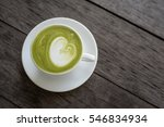 Matcha Green Tea Latte With...