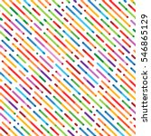vector seamless parallel... | Shutterstock .eps vector #546865129