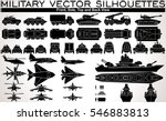 flat military units. vector... | Shutterstock .eps vector #546883813