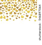 vector background with gold... | Shutterstock .eps vector #546897064