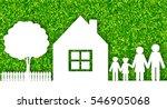 happy family concept vector... | Shutterstock .eps vector #546905068