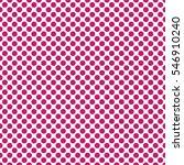 seamless fuchsia polka dots... | Shutterstock .eps vector #546910240