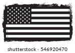 grunge usa flag.vector flag of... | Shutterstock .eps vector #546920470