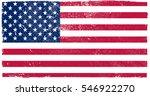 grunge american flag.vector... | Shutterstock .eps vector #546922270